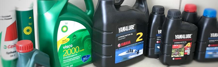 Nos produits lubrifiants, BP & Yamalube