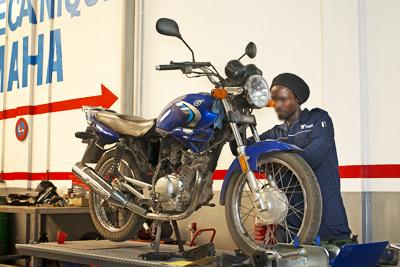 Réparation et entretien motos