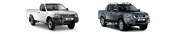 Pick-Up, Nissan Hardbody NP300 Simple et Double Cabine