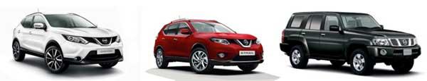 4x4, SUV & Crossovers, Nissan Qashqai, X-Trail, Patrol