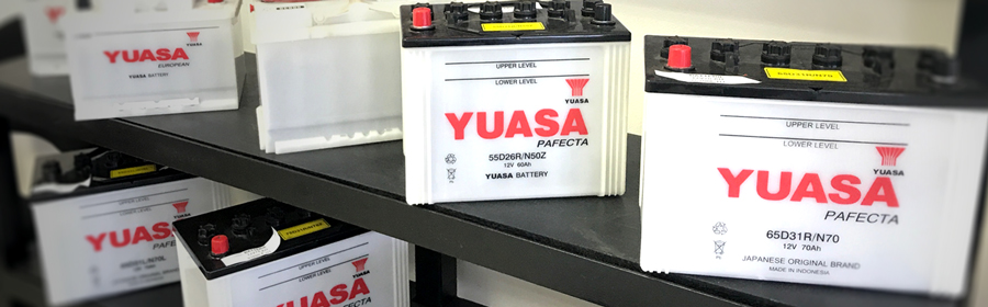Batteries Yuasa