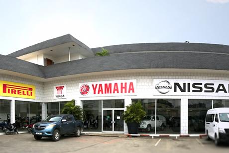 Notre magasin Sporafric Motors à Pointe-Noire